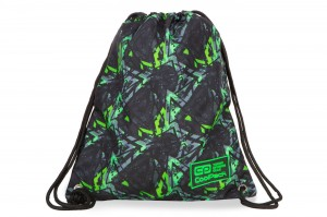 Coolpack - solo - worek sportowy - electric green